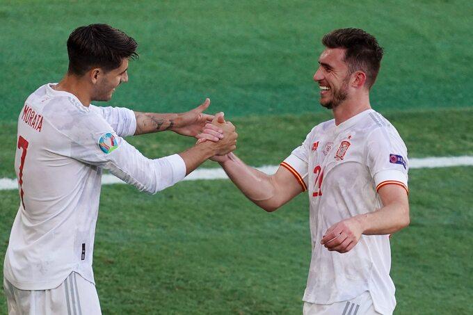 Alvaro Morata i Aymeric Laporte