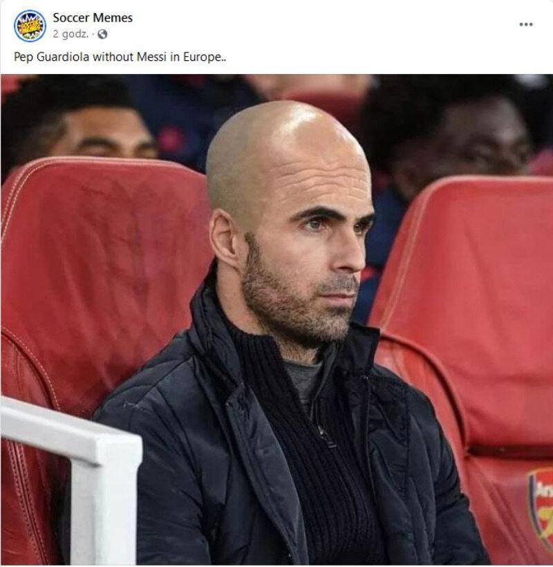 Guardiola bez Messiego xD