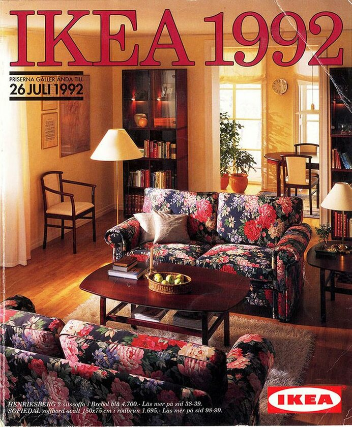 Okładka katalogu IKEA z 1992 roku