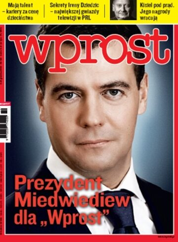 Okładka tygodnika Wprost nr 50/2010 (1453)