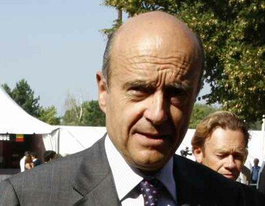 Juppe: NATO wesprze atak na Libię