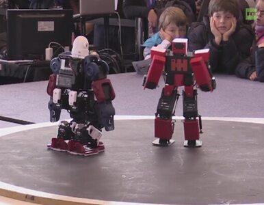 Zobacz walki humanoidalnych robotów na hiszpańskim expo