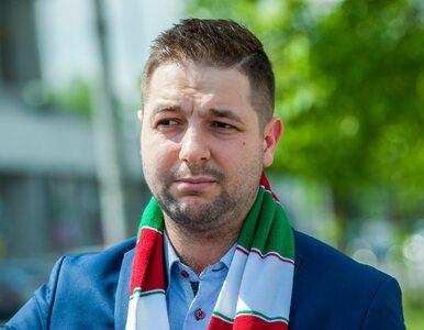 """Patryk Jaki w szaliku Legii Warszawa. """"Chciałbym podjąć zobowiązanie"""""""