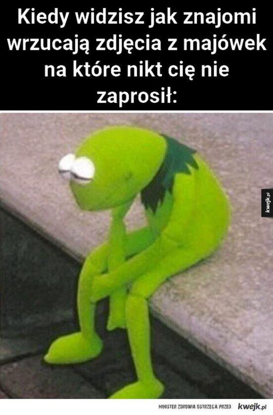 Memy na majówkę