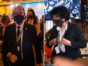 Witek i Grodzki wyszli podczas przemówienia szefowej rosyjskiej Rady...