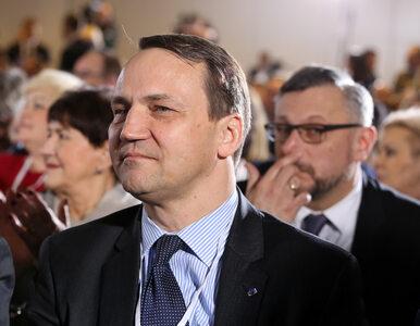 Sikorski komentuje taśmy i uderza w szefów Telewizji Polskiej