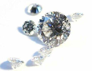Złodziej połknął diament o wartości 12 tys. euro
