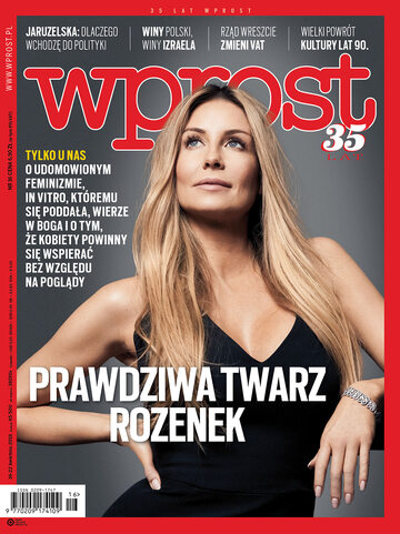 Okładka tygodnika Wprost nr 16/2018 (1832)