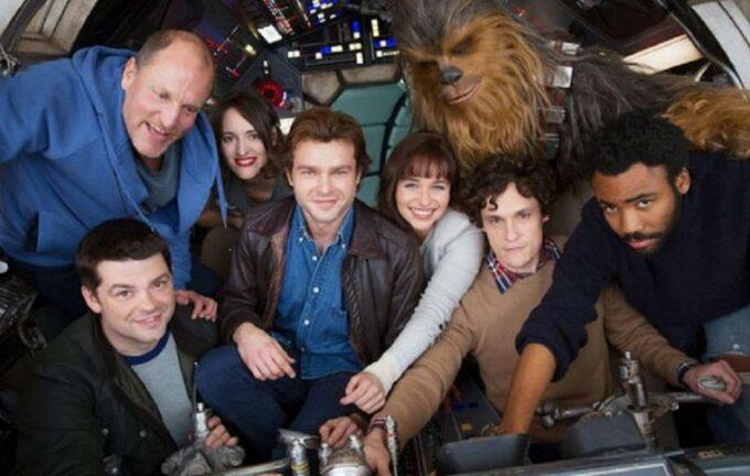 """pierwsze zdjęcie obdasy """"Han Solo -Gwiezdne Wojny -historie"""""""