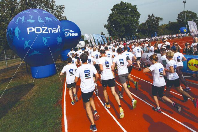 Enea sponsorowała Poland Businnes Run, bieg charytatywny odbywający się jednocześnie w10 polskich miastach