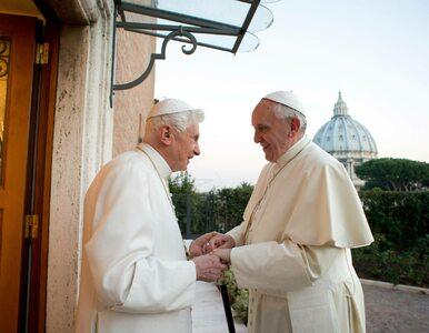 Benedykt XVI szczerze o abdykacji. Odniósł się do teorii spiskowych o...