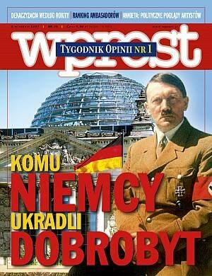 Okładka tygodnika Wprost nr 35/2007 (1288)