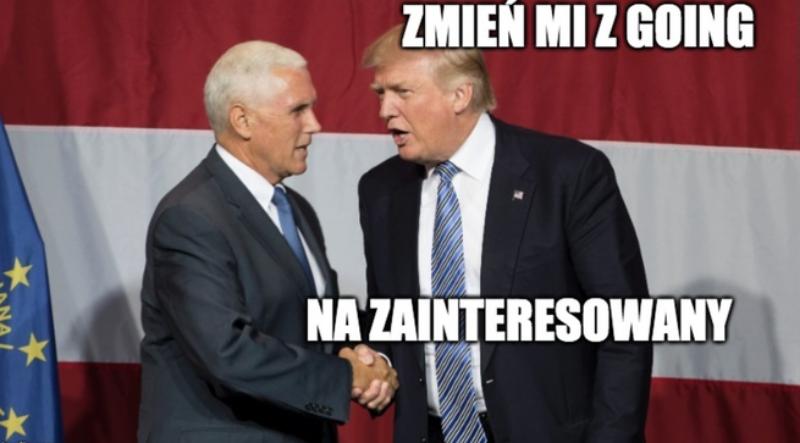Donald Trump pod koniec sierpnia nie przyleci do Polski. Internauci tworzą memy