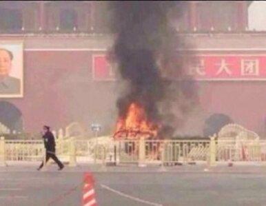 Co spowodowało eksplozję samochodu w Pekinie?