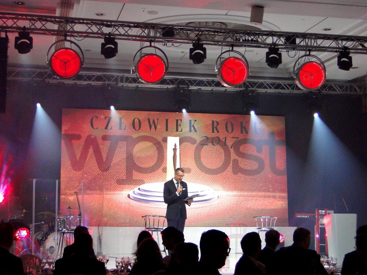 """Gala Człowiek Roku 2017 tygodnika """"Wprost"""""""