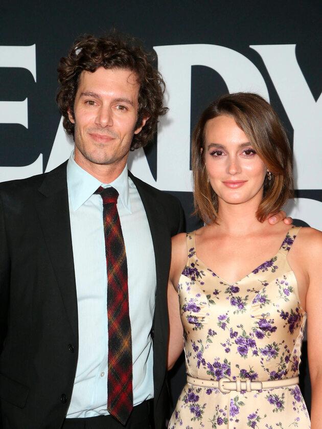 """Leighton Meester i Adam Brody Aktorka znana z serialu """"Plotkara"""" Leighton Meester poślubiła gwiazdę serialu """"Życie na fali"""" Adama Brody'ego. Mają wspólnie trzyletnią córkę Arlo Day Brody."""
