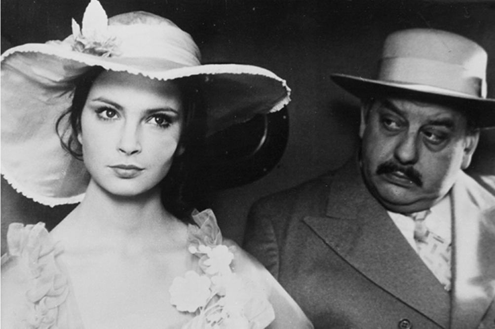 """Anna Dymna w filmie """"Trędowata"""" (1976)"""