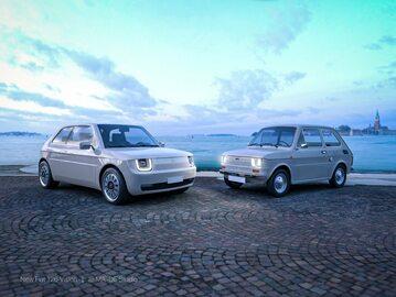 Fiat 126 w wersji elektrycznej