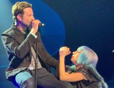 Lady Gaga i Bradley Cooper zaskoczyli fanów. Jak wypadli na żywo w...