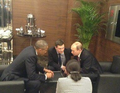 """Rozmowa Obamy i Putina o sytuacji w Syrii i na Ukrainie. """"Zgoda co do..."""