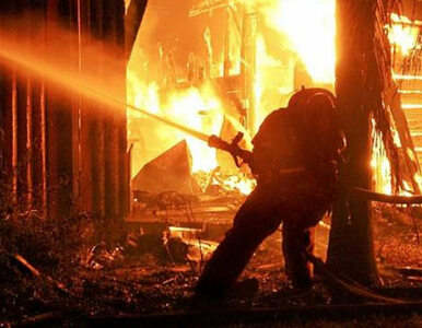 Eksplozja w fabryce fajerwerków - nie żyje jedna osoba