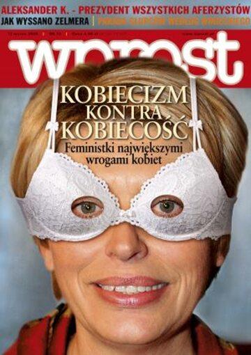 Okładka tygodnika Wprost nr 10/2005 (1162)