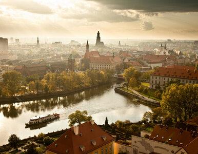 Zimowy Wrocław jest piękny