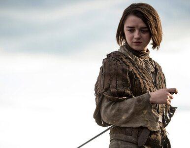 """Arya Stark w ostatniej scenie """"Gry o Tron"""". Aktorka zdradziła szczegóły"""
