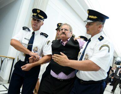 Incydent w Sejmie. Straż Marszałkowska musiała wyprowadzić jednego z gości