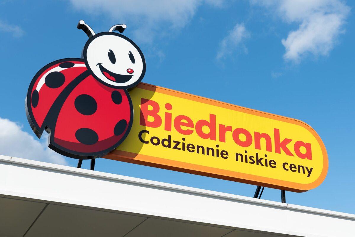 Biedronka, logo sklepu