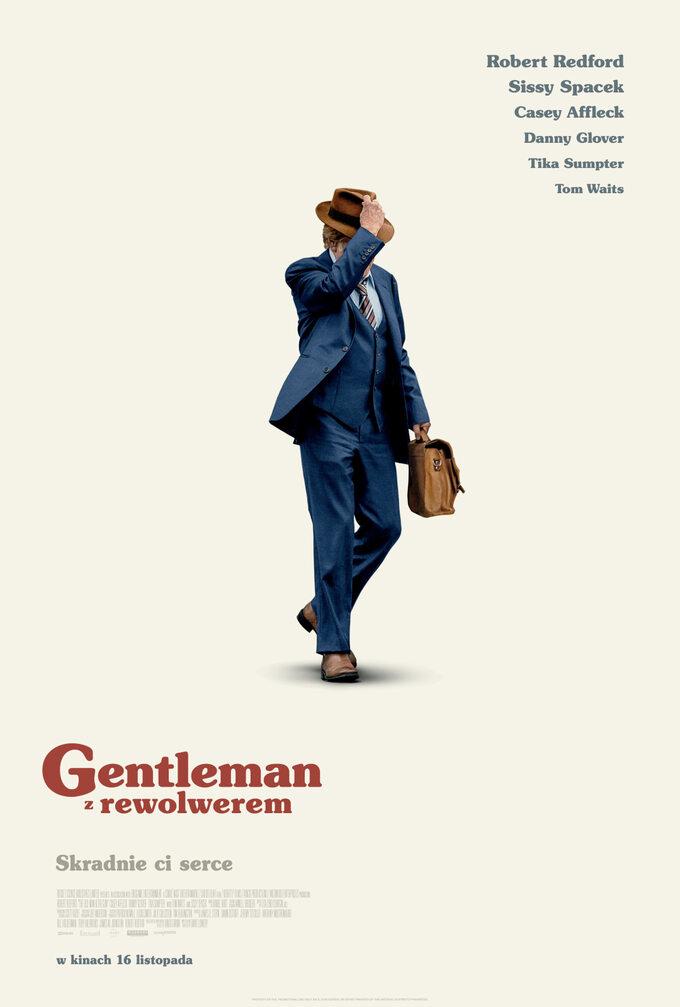 "plakat filmu ""Gentleman zrewolwerem"" (2018)"