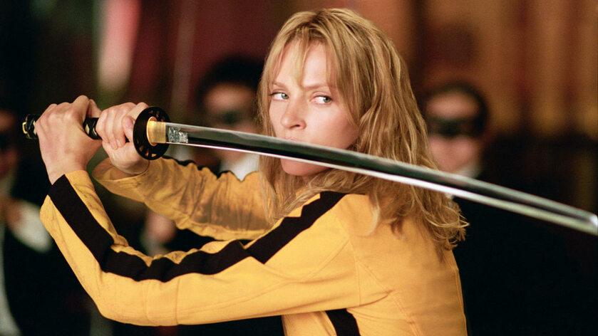 """Uma Thurman w filmie """"Kill Bill"""" (2003)"""