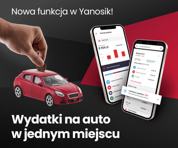 Nowa funkcja Yanosika