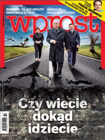 Okładka tygodnika Wprost nr 51/2015 (1716)