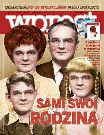 Okładka tygodnika Wprost nr 38/2008 (1343)