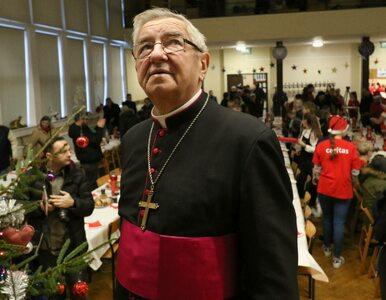 Warszawa. Arcybiskup Głódź pozbawiony tytułu honorowego obywatela miasta