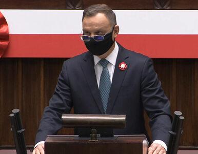 """Andrzej Duda na uroczystym posiedzeniu w Sejmie. """"Wsłuchujemy się w..."""