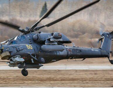Rosyjski śmigłowiec bojowy Mi-28 rozbił się w Syrii