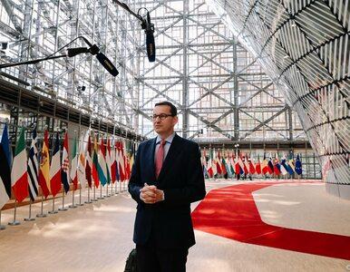 Morawiecki na szczycie unijnym: Klauzula praworządności jest nadużywana