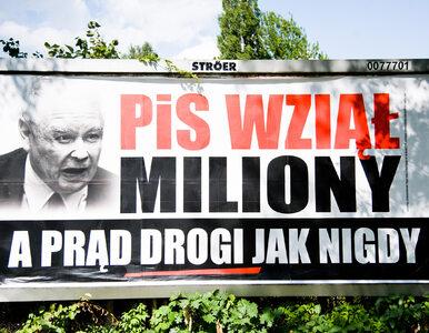 PiS odpowiada na akcję opozycji i prezentuje swój billboard. Szybka...
