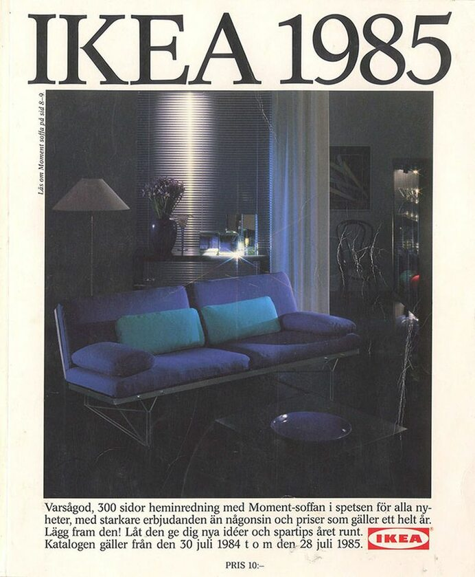 Okładka katalogu IKEA z 1985 roku