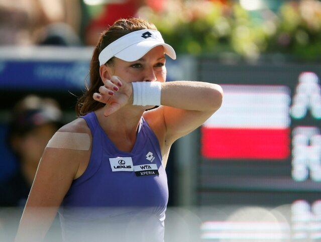 Turniej WTA w Dausze: Agnieszka Radwańska w ćwierćfinale