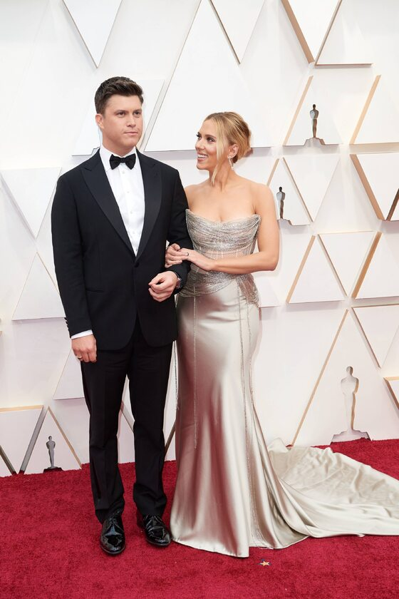 Colin Jost i Scarlett Johansson
