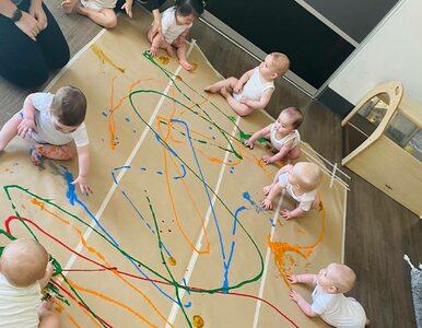Co dzieje się, gdy dzieciom da się kolorowe farbki? Sami zobaczcie