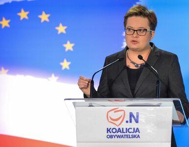 Katarzyna Lubnauer: Wydarzenia grudniowe zakończyły Koalicję Obywatelską