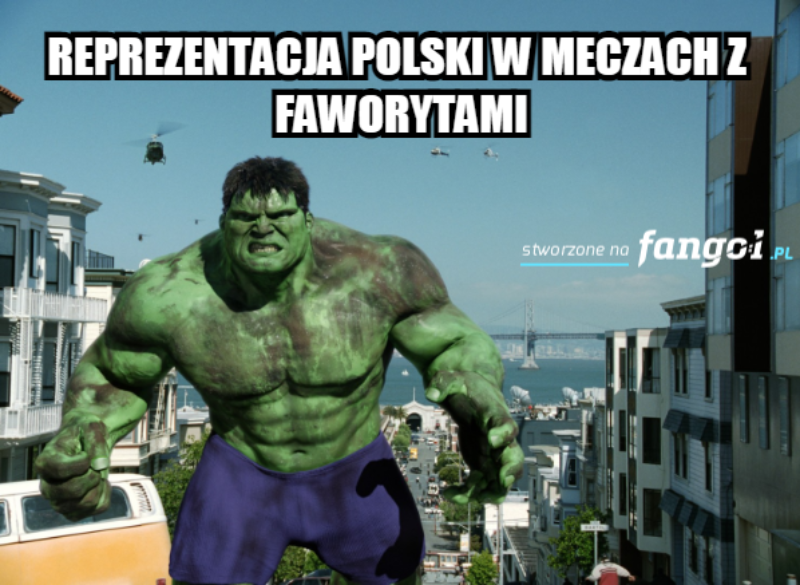 Reprezentacja jak Hulk