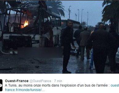Zamach w Tunisie. Zginęło co najmniej 12 osób