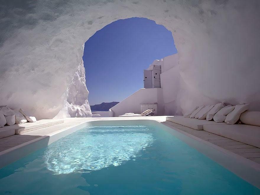 Katikies Hotel-Oia, Grecja