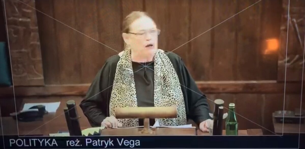 """Kadr z filmu """"Polityka"""" Patryka Vegi"""