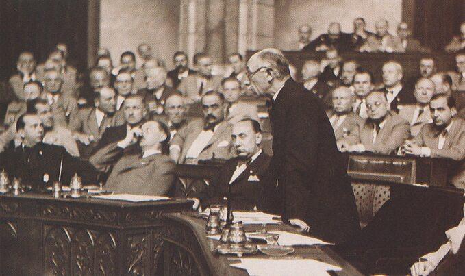 Pal Teleki w1939 roku